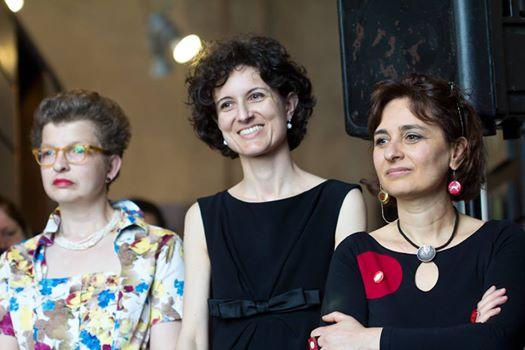 Elena, Bianca e Teresa, le libraie della Libreria Cuccumeo di Firenze